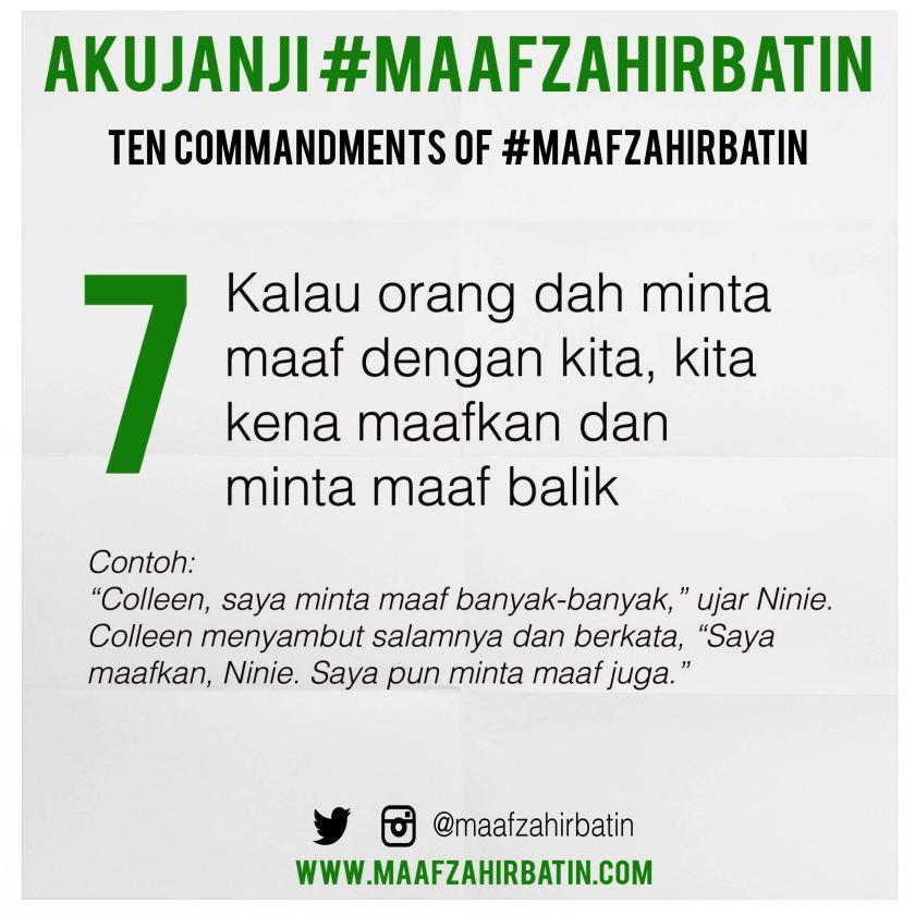 Akujanji Maaf Zahir Batin Insta 07-01