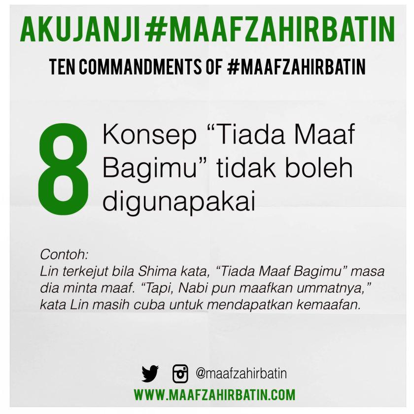 Akujanji Maaf Zahir Batin Insta 08-01