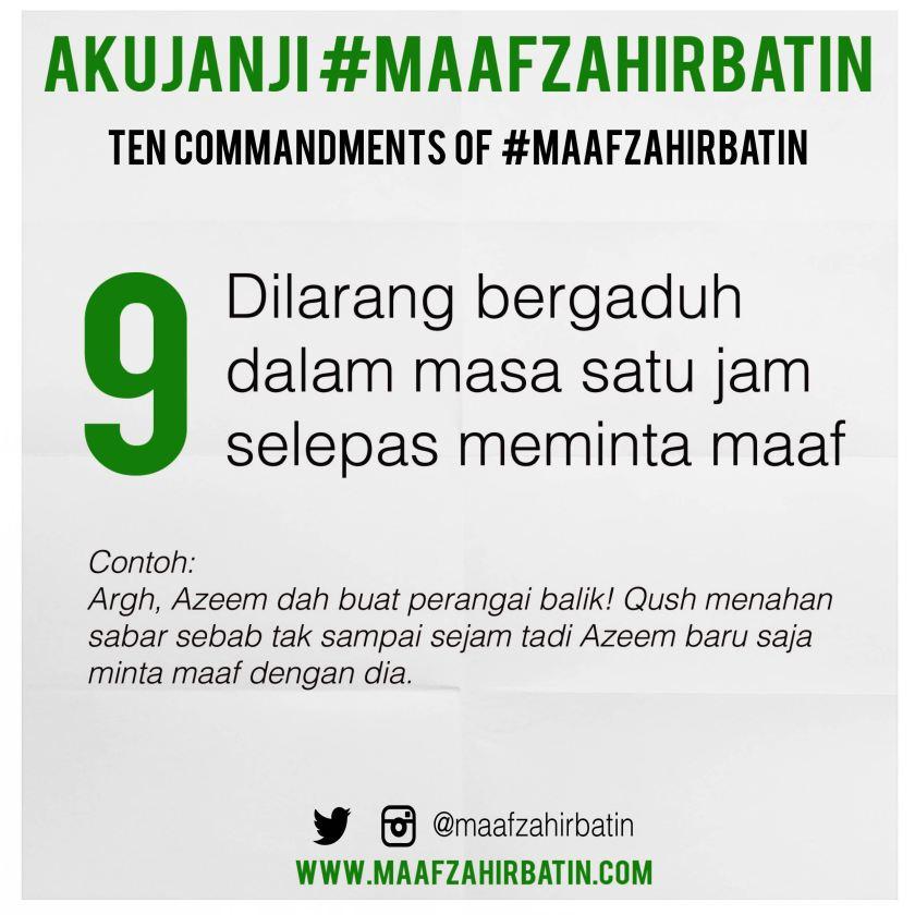 Akujanji Maaf Zahir Batin Insta 09-01